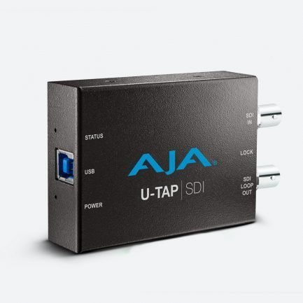 AJA U-TAP-SDI USB 3.0 3G-SDI Capture Device