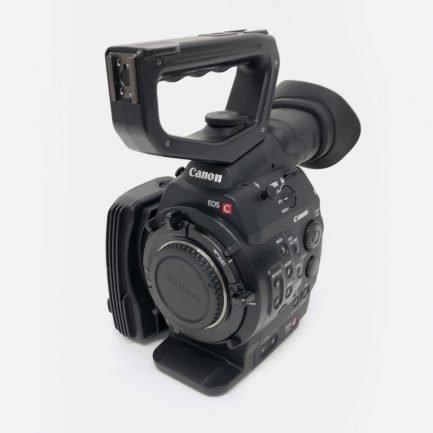 Used Canon C500 4K digital cinema camera
