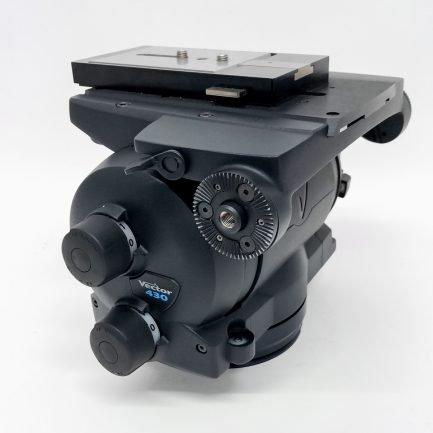 Used Vinten Vector 430 Pan and Tilt Tripod Head