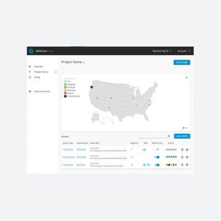 Telestresm OptiQ Monitor live stream monitoring